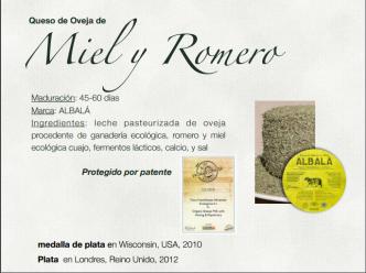 Quesos Ecologicos Miel y Romero Comevidabio