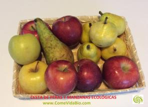Cesta de Peras y Manzanas Bio 8