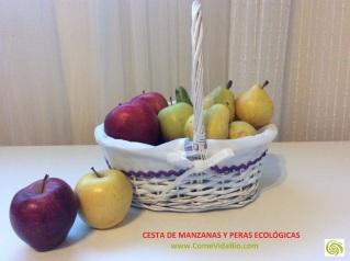 Cesta de Peras y Manzanas Bio 7